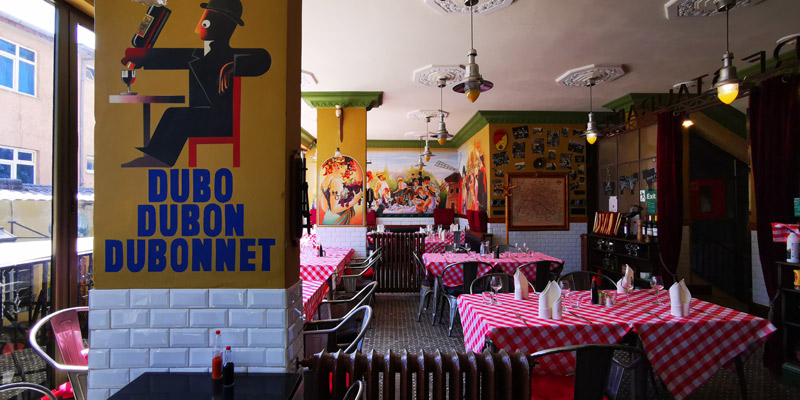 French brasserie-style restaurant in the heart of Addis Ababa