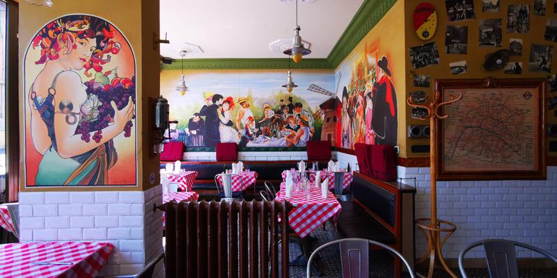 Café du louvre, une brasserie française au style parisien